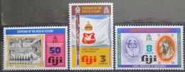 Poštovní známky Fidži 1974 Nezávislost, 4. výroèí Mi# 327-29