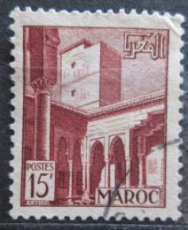 Poštovní známka Francouzské Maroko 1951 Architektura, Rabat Mi# 305