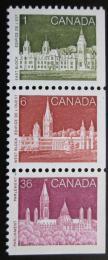 Poštovní známky Kanada 1987 Parlament Mi# 1027-29