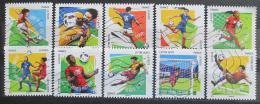 Poštovní známky Francie 2016 ME ve fotbale Mi# 6450-59 Kat 16€