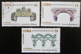 Poštovní známky Kuba 2010 Architektura Mi# 5438-40