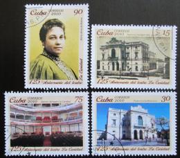 Poštovní známky Kuba 2010 Divadlo La Caridad Mi# 5434-37 Kat 4€