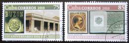 Poštovní známky Kuba 2010 První kubánské známky, 155. výroèí Mi# 5384-85