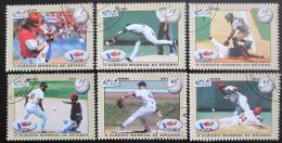 Poštovní známky Kuba 2009 MS v baseballu Mi# 5206-11