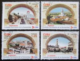 Poštovní známky Kuba 2009 Dìdictví UNESCO Mi# 5268-71