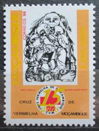 Poštovní známka Mosambik 1996 Národní èervený køíž, 10. výroèí Mi# 1362