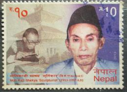 Poštovní známka Nepál 2013 Moti Kaji Shakya, sochaø Mi# 1087