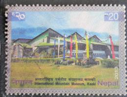 Poštovní známka Nepál 2013 Muzeum hor, Kaski Mi# 1115