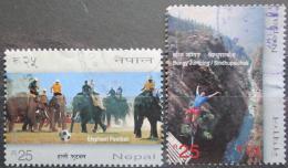 Poštovní známky Nepál 2012 Trávení volného èasu Mi# 1066-67