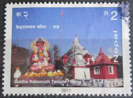 Poštovní známka Nepál 2011 Siddha Ratannath Temple Mi# 1028