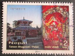 Poštovní známka Nepál 2011 Tansen Bhagawati Mi# 1029
