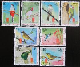 Poštovní známky Kuba 2008 Ptáci Mi# 5078-85 Kat 8.30€