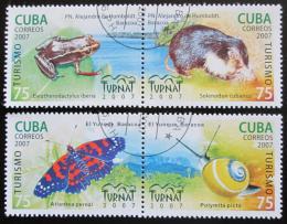 Poštovní známky Kuba 2007 Fauna Mi# 4982-85