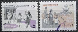 Poštovní známky Nepál 2002 Boj proti spoleèenským nepøístojnostem Mi# 750-51