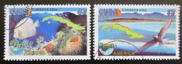 Poštovní známky Kuba 2004 Životní prostøedí Mi# 4635-36