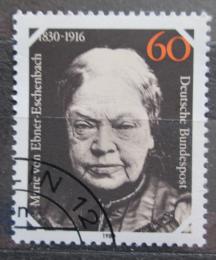 Poštovní známka Nìmecko 1980 Marie Ebner-Eschenbach Mi# 1057