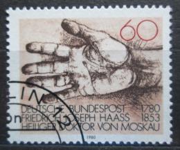 Poštovní známka Nìmecko 1980 Ruka Mi# 1056