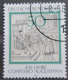 Poštovní známka Nìmecko 1980 Augšpurské vyznání Mi# 1051