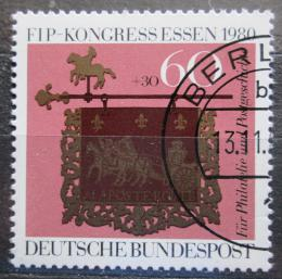 Poštovní známka Nìmecko 1980 Kongres FIP Mi# 1065