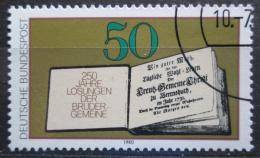 Poštovní známka Nìmecko 1980 Otevøená kniha Mi# 1054
