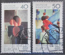 Poštovní známky Nìmecko 1975 Evropa CEPT, umìní Mi# 840-41