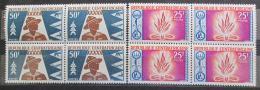 Poštovní známky SAR 1965 Skauti ètyøbloky Mi# 91-92