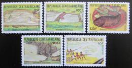 Poštovní známky SAR 1983 Rybolov Mi# 995-99