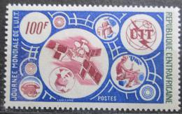 Poštovní známka SAR 1976 Svìtový den telekomunikace Mi# 400