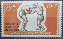 Poštovní známka SAR 1972 LOH Mnichov, box pøetisk Mi# 289