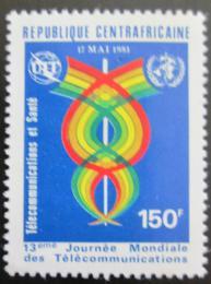 Poštovní známka SAR 1981 Svìtový den telekomunikace Mi# 735