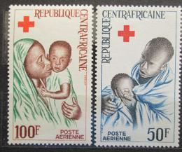 Poštovní známky SAR 1965 Èervený køíž Mi# 96-97