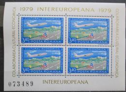 Poštovní známky Rumunsko 1979 Poštovní služby, INTEREUROPEANA Mi# Block 158