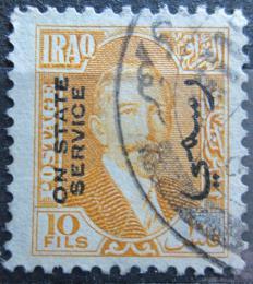 Poštovní známka Irák 1932 Král Faisal I., úøední Mi# 81