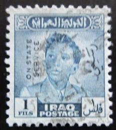 Poštovní známka Irák 1948 Král Faisal II. , úøední Mi# 144