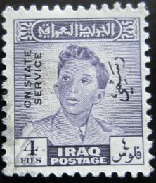 Poštovní známka Irák 1948 Král Faisal II. , úøední Mi# 148