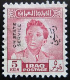 Poštovní známka Irák 1948 Král Faisal II. , úøední Mi# 149