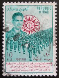 Poštovní známka Irák 1960 Den armády Mi# 287