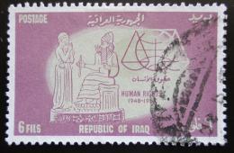 Poštovní známka Irák 1964 Deklarace lidských práv, 15. výroèí Mi# 380