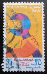 Poštovní známka Irák 1972 Den práce Mi# 731