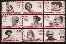 Poštovní známky Kuba 2009 Kubánská kinematografie Mi# 5235-43 Kat 8.50€