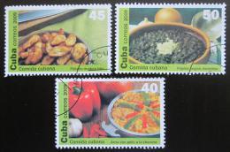 Poštovní známky Kuba 2009 Kubánská kuchynì Mi# 5291-93