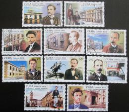 Poštovní známky Kuba 2005 José Martí Mi# 4741-50