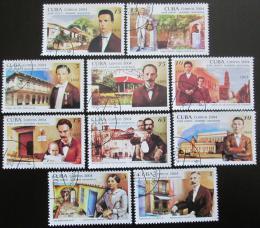 Poštovní známky Kuba 2004 José Martí Mi# 4581-90 - zvìtšit obrázek