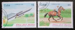 Poštovní známky Kuba 1999 Den známek Mi# 4200-01