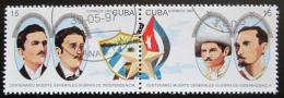 Poštovní známky Kuba 1997 Generálové Mi# 4012-13