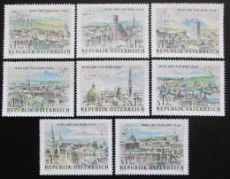 Poštovní známky Rakousko 1964 Výstava WIPA, Vídeò Mi# 1164-71