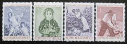 Poštovní známky Rakousko 1961 Umìní Mi# 1087-90