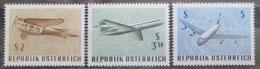 Poštovní známky Rakousko 1968 Letadla Mi# 1262-64