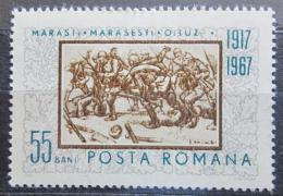 Poštovní známka Rumunsko 1967 Umìní, E. Stoica Mi# 2606