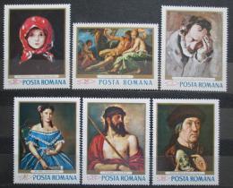 Poštovní známky Rumunsko 1968 Umìní Mi# 2666-71 Kat 9€